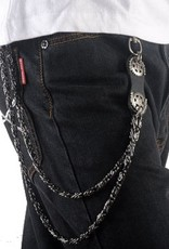 Grooveman Keychain | Leather w/Wheels