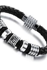 Grooveman Bracelet   Leather Aluminum