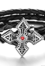 Grooveman Bracelet | Leather Cruz