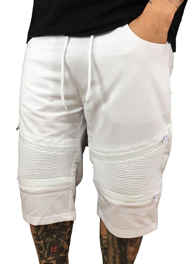 Grooveman Biker Terry Cotton Shorts