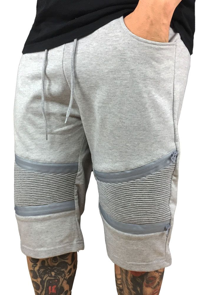Grooveman Biker Terry Cotton Shorts