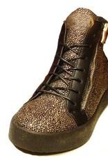 Grooveman Gold Diamond Hi Top