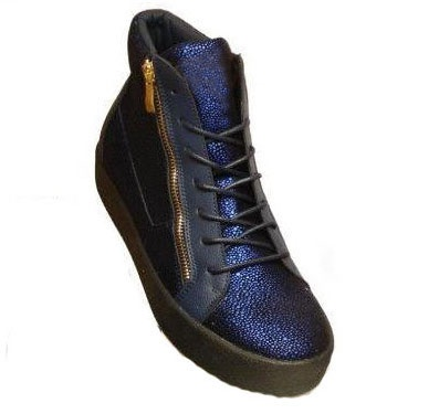 Grooveman Blue Diamond Hi Top