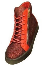Grooveman Red Diamond Hi Top