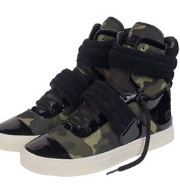 Radii Radii | Cylinder - Oil Patent Leather Army Camo