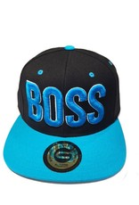 Grooveman Embroidered Hat | Boss 3D Neon Blue