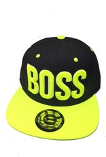 Grooveman Embroidered Hat | Boss 3D Neon Yellow