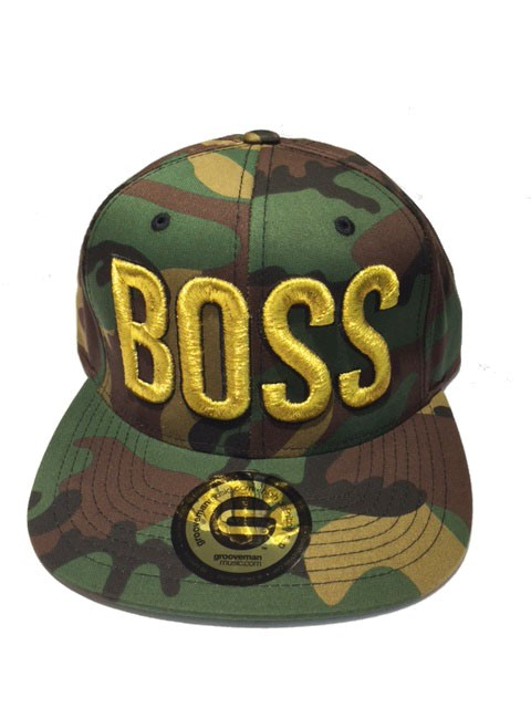 Grooveman Embroidered Hat | Boss 3D Camo