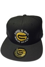 Grooveman Snapback Embroidered Hat | Dimelo Papi TM Gold