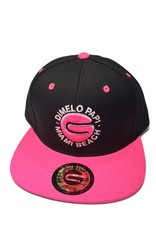Grooveman Embroidered Hat | Dimelo Papi TM Blk Pink