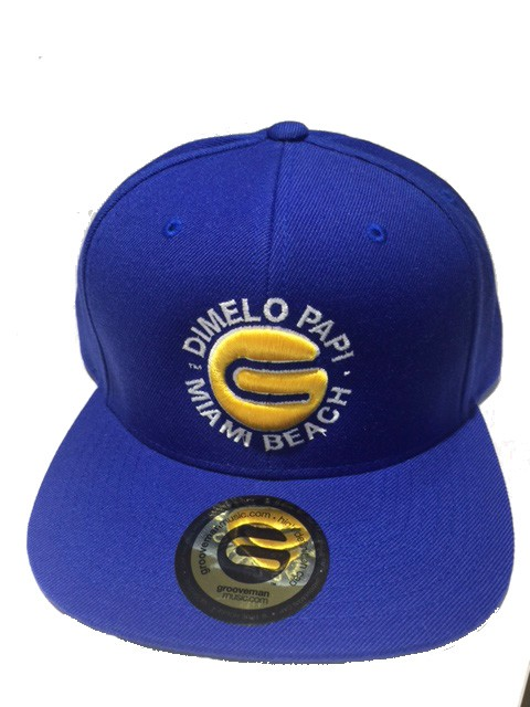 Grooveman Embroidered Hat | Dimelo Papi TM
