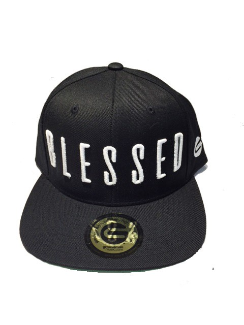 Grooveman Embroidered Hat | Blessed