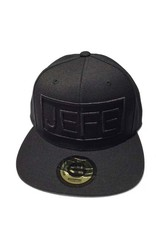 Grooveman Embroidered Hat | Jefe Black Solid