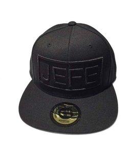 Grooveman Embroidered Hat | Jefe Black Solid