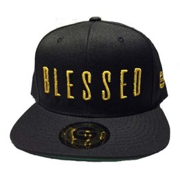 Grooveman Embroidered Hat | Blessed Black