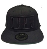 Grooveman Embroidered Hat | Dope Black Solid