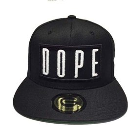 Grooveman Embroidered Hat | DOPE White