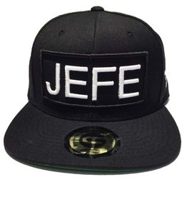 Grooveman Embroidered Hat | Jefe White