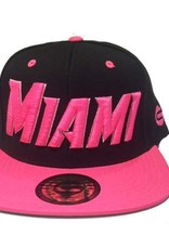 Grooveman Embroidered Hat | Miami Pink