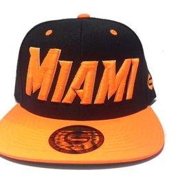 Grooveman Embroidered Hat | Miami Neon Orange