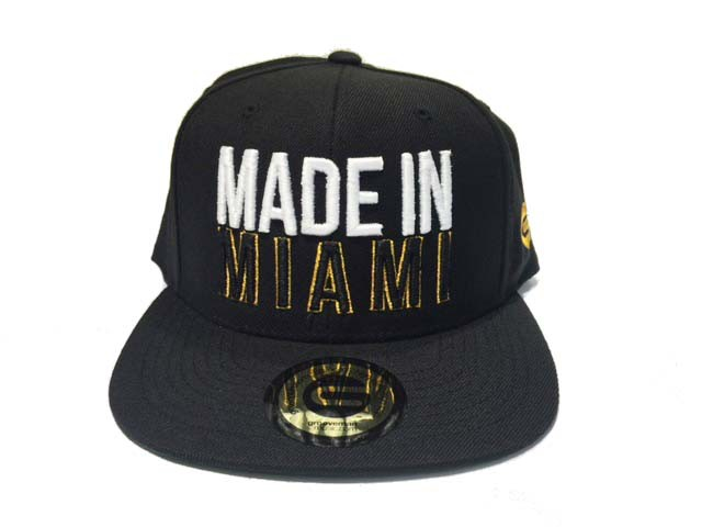 Grooveman Embroidered Hat | Made in Miami