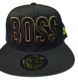 Grooveman Embroidered Hat | Boss Gold