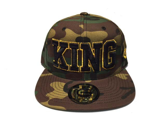 Grooveman Embroidered Hat | King Gold