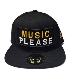Grooveman Embroidered Hat | Music Please