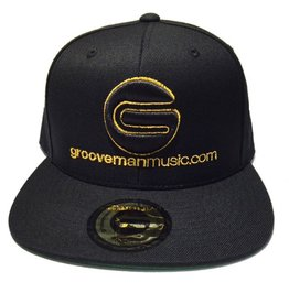 Grooveman Embroidered Hat | Classic G Logo Gold
