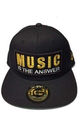 Grooveman Embroidered Hat | Music is the Answer