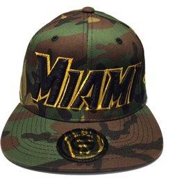 Grooveman Embroidered Hat | Miami Camo