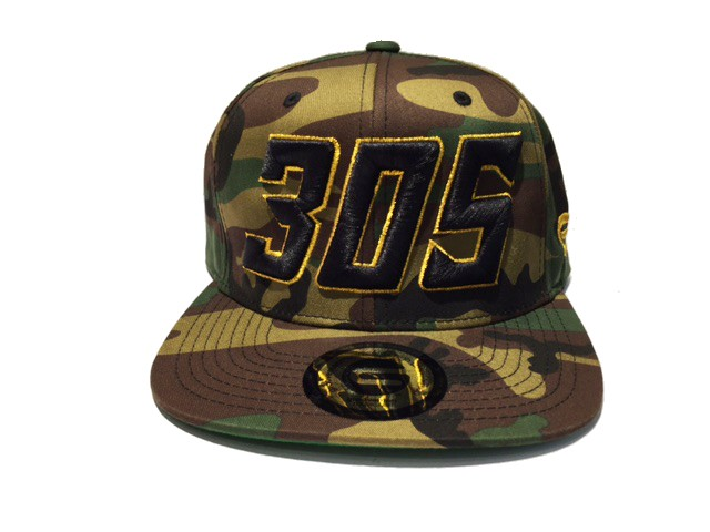 Grooveman Embroidered Hat | 305 Camo Gold