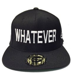 Grooveman Embroidered Hat | Whatever Black White