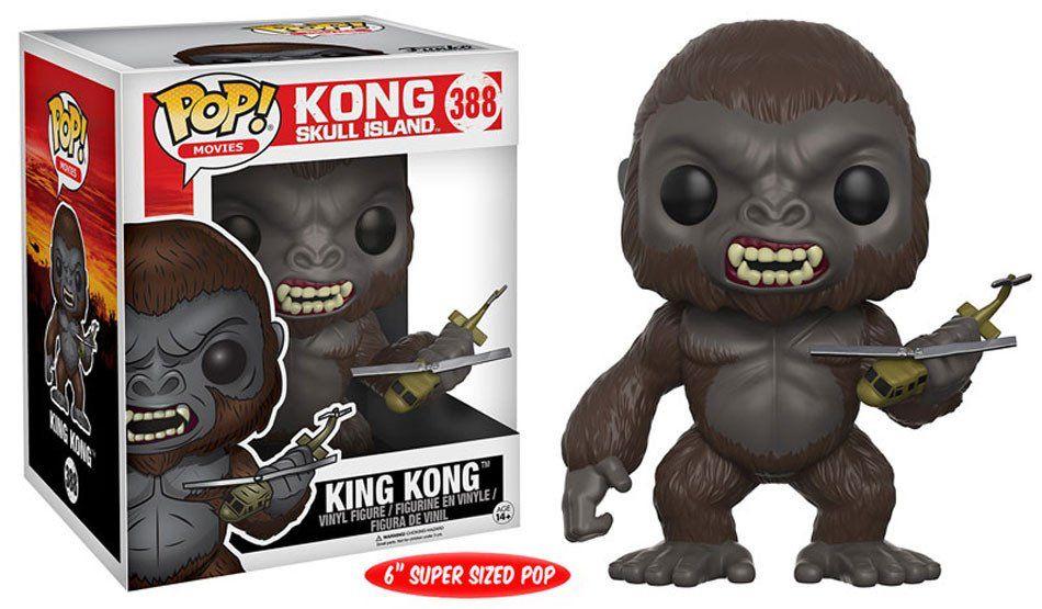 "Funko Funko | POP! MOVIES: KONG SKULL ISLAND - KING KONG 6"""