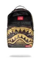 Sprayground Sprayground | Gold Stencil Shark Camo