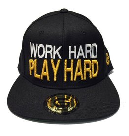 Grooveman Embroidered Hat | Work Hard