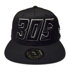 Grooveman Embroidered Hat | 305 Black White