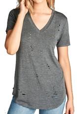 Grooveman Ripped T Shirt