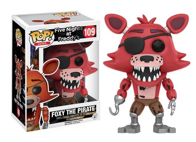Funko POP! GAMES: FIVE NIGHTS AT FREDDY'S - FOXY THE PIRATE