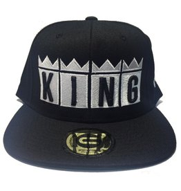 Grooveman Embroidered Hat | King Crown