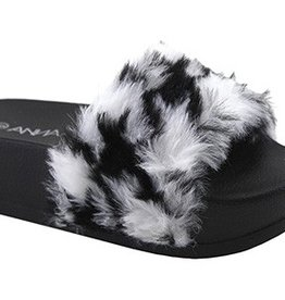 London Slippers | Zebra