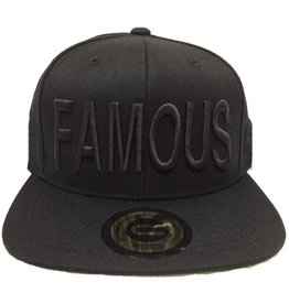 Grooveman Embroidered Hat | Famous Solid