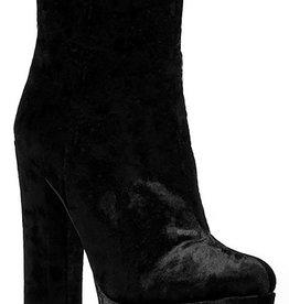 London Velvet Boots