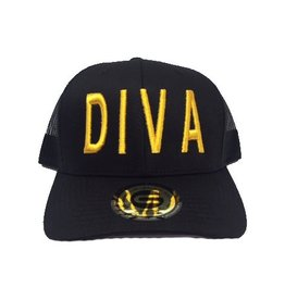 Grooveman Embroidered Hat | Diva