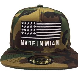 Grooveman Embroidered Hat | Made in Miami Camo