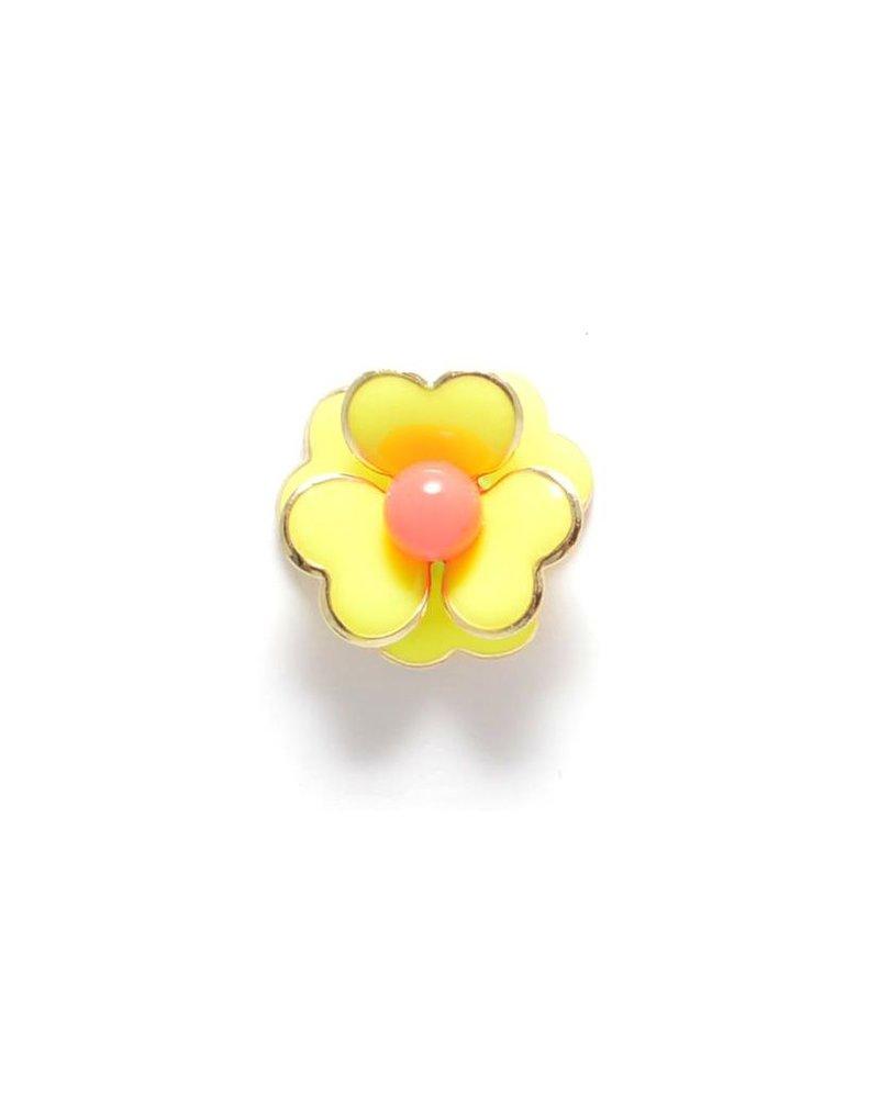 Love In Bloom Earrings In Yellow