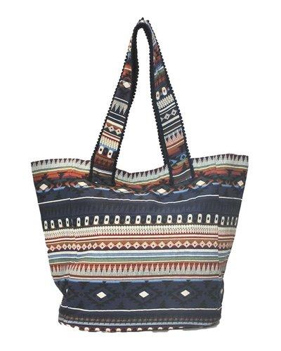 My BoHo Tote Bag In Navy