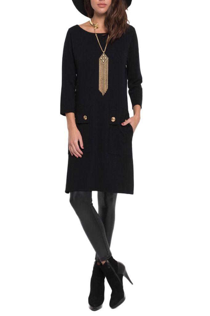 The Mod Dress In Black
