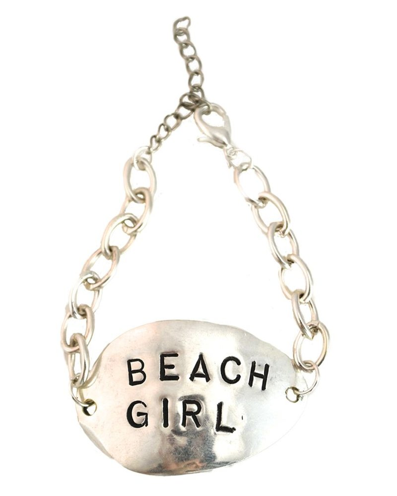 Vintage Spoon Bracelet - Beach Girl