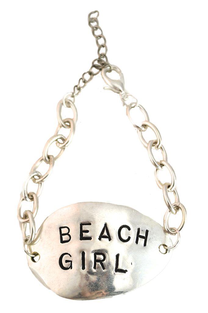 Vintage Spoon Bracelet - Beach Girl